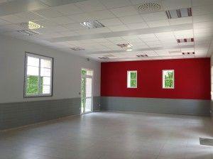 Salle Petit Lundi rénovée intérieur